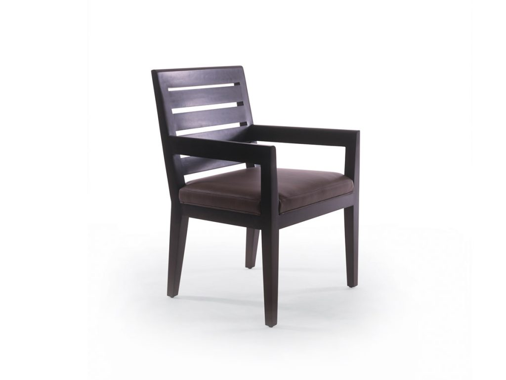 Graduate Arm Chair with Slat Back 1