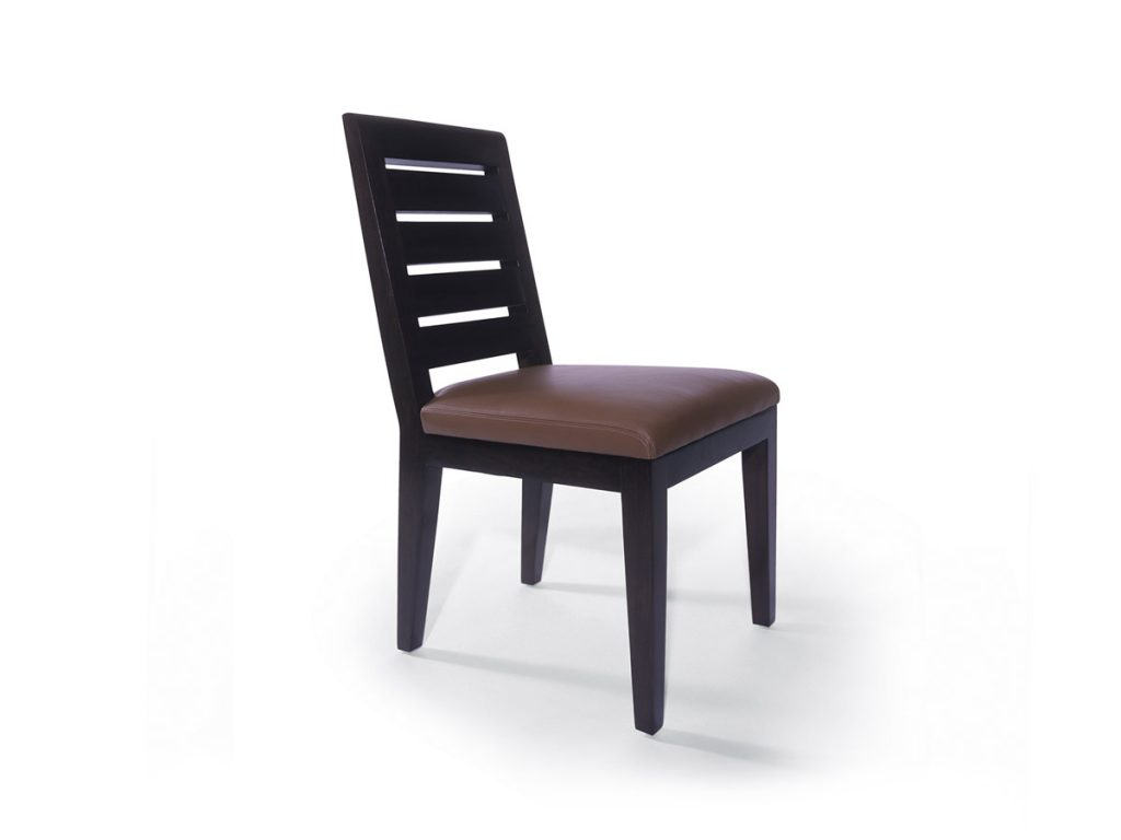 High School Side Chair with Slat Back 1