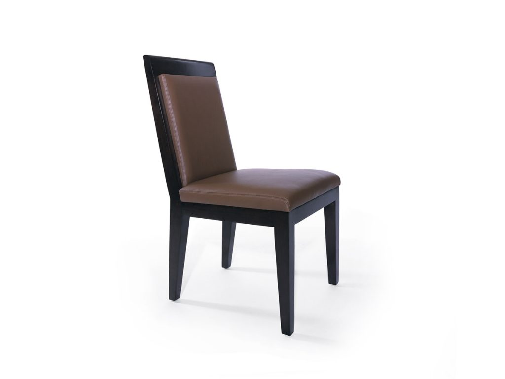 High School Side Chair with Upholstered Back 1