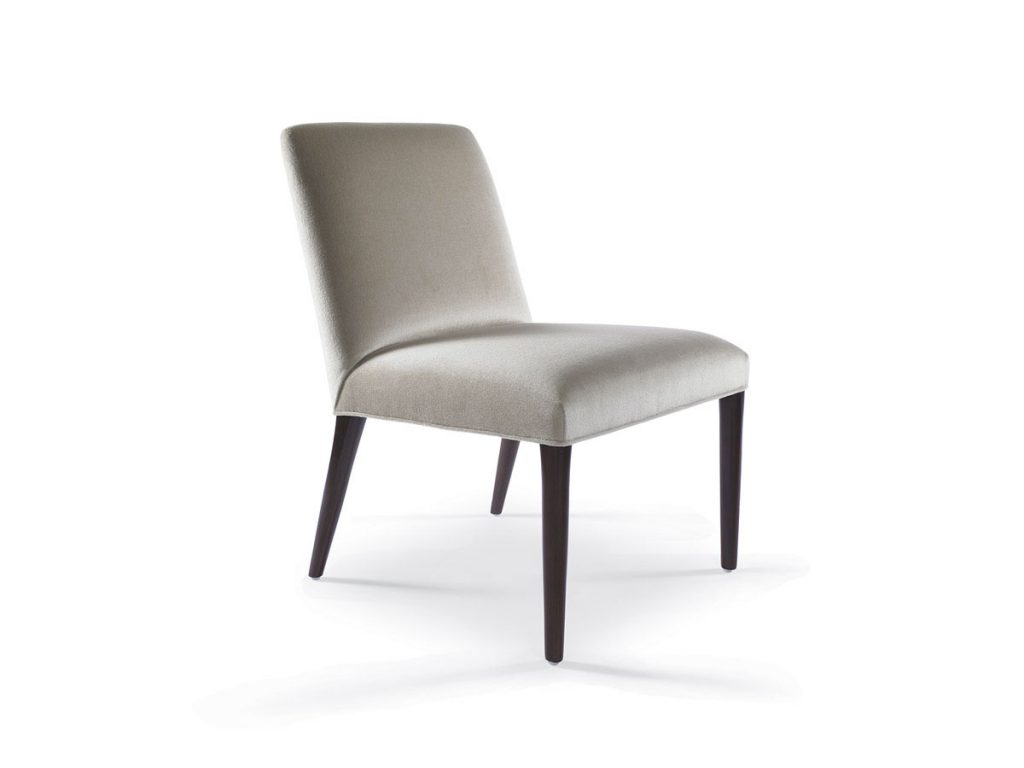 Zack Side Chair with Wood Front and Back Legs 1