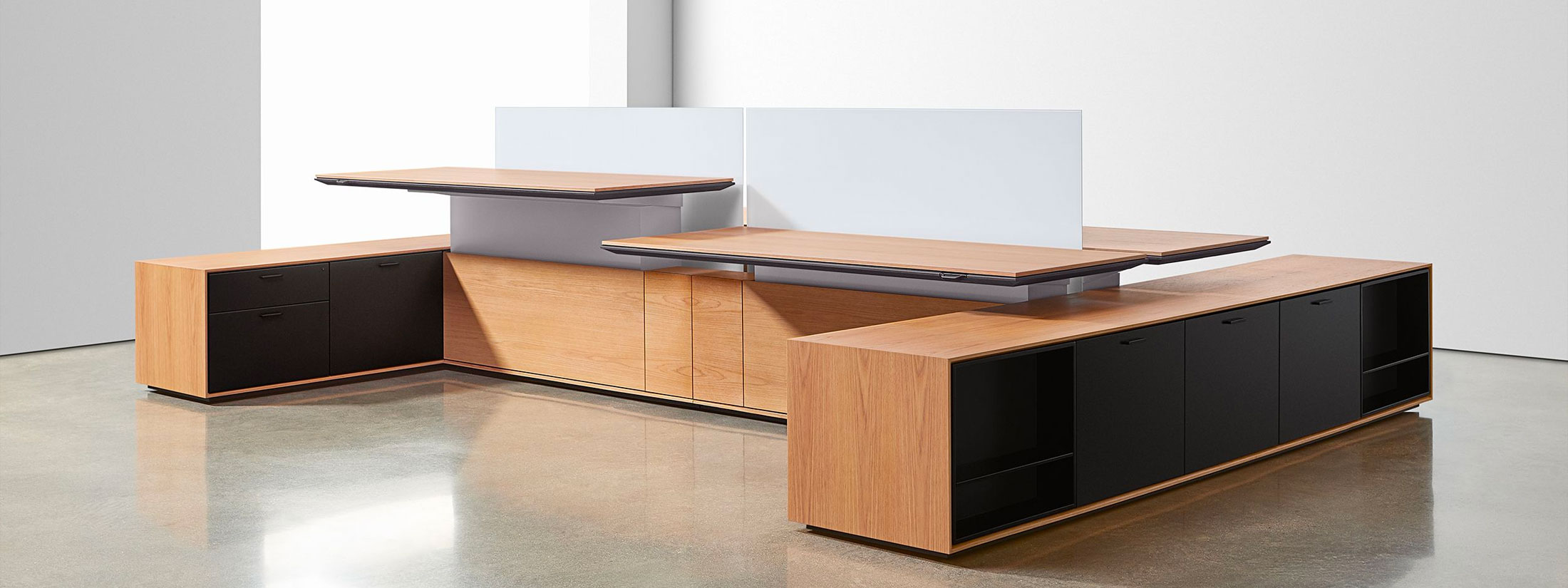 Halo Office Workstation by Halcon